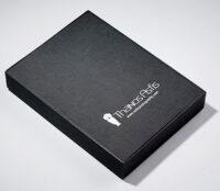 Χάρτινο κουτί σε μαύρο χρώμα